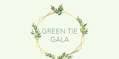 Green Tie Gala Graphic